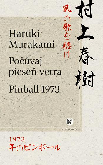 Počúvaj pieseň vetra, Pinball 1973 Obálka knihy