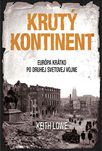 Krutý kontinent Obálka knihy
