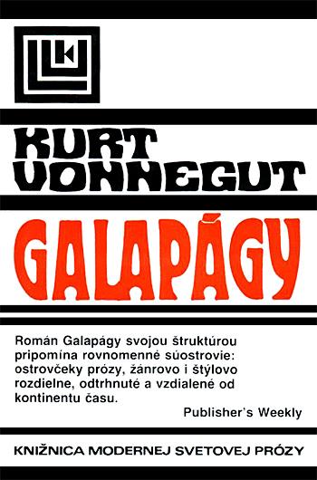 Galapágy Obálka knihy