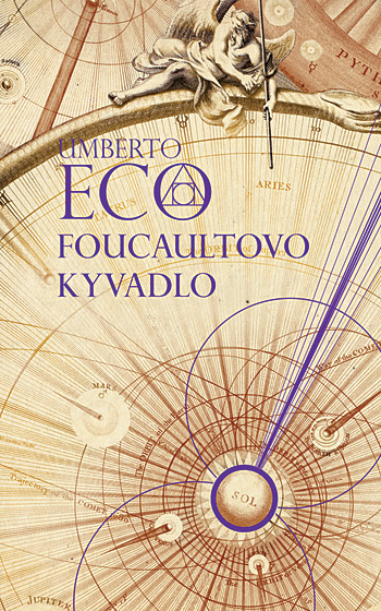 Foucaultovo kyvadlo Obálka knihy